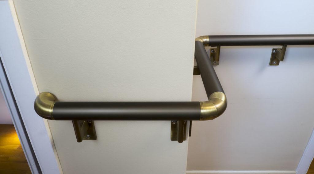 Handrail - Black Satin