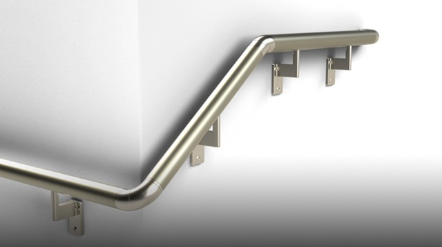 Handrail - Available Colour Silver