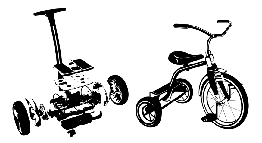 Segway vs Tricycle