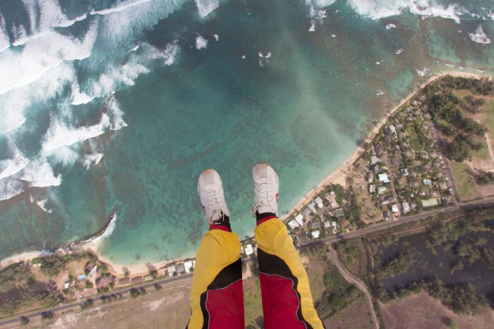 You Don't Need A Parachute To Jump Out Of An Airplane…