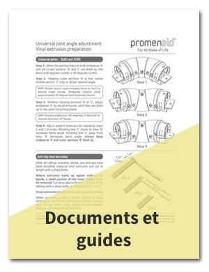 Documents et guides de main-courants Promenaid