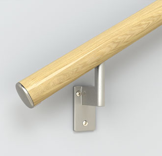 Handrail - Red Oak End Cap