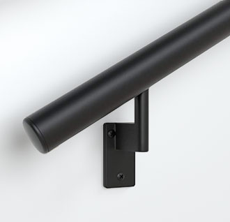 Handrail - Satin Black End Cap