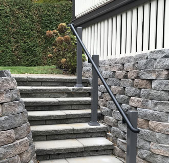 Handrail Satin Black